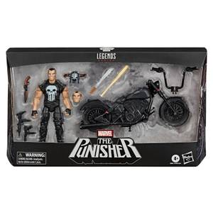 Hasbro Marvel Legends The Punisher with Motorcycle Action Figure