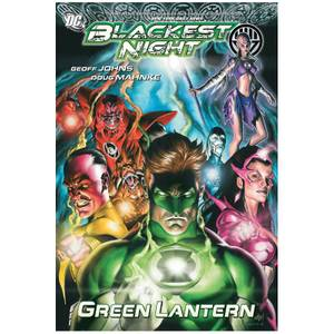 DC Comics Graphic Novel Green Lantern Blackest Night