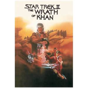 Star Trek Graphic Novels Wrath Of Khan Poster
