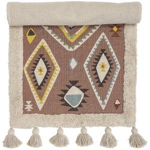 Bloomingville Textured Aztec Rug - Natural