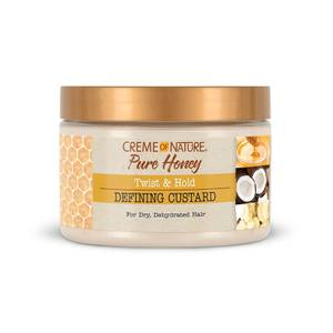 Crème of Nature Pure Honey Curling Custard 326ml