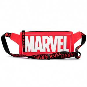 Loungefly Marvel Logo Red Cross Body/ Waist Bag