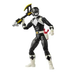 Hasbro Power Rangers Lightning Collection Mighty Morphin Black Ranger Action Figure