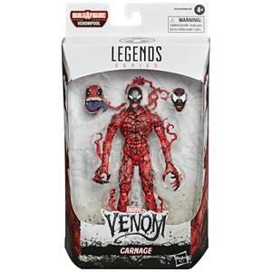Hasbro Marvel Legends Venom Carnage 6 Inch Action Figure