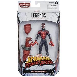 Hasbro Marvel Legends Venom Miles Morales 6 Inch Action Figure