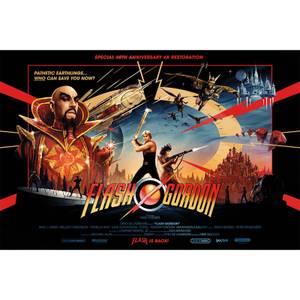 "Flash Gordon ""Gold Foil"" Limited Edition Lithograph by Matt Ferguson"