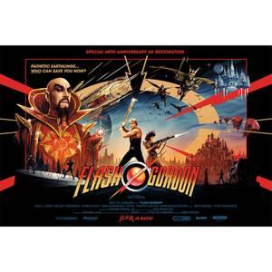 Flash Gordon Limited Edition Lithograph by Matt Ferguson