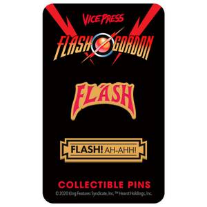 Flash Gordon Limited Edition Hard Enamel Pin Set 1 by Florey