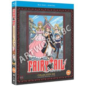 Fairy Tail Collection 6 (Episodes 121-142)