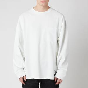 Martine Rose Men's Warung Oversized Long Sleeve T-Shirt - White