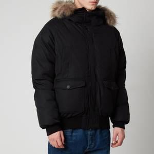 Pyrenex Men's Mistral Fur Collar Jacket - Black
