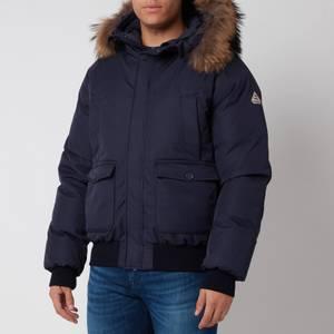 Pyrenex Men's Mistral Fur Collar Jacket - Amiral