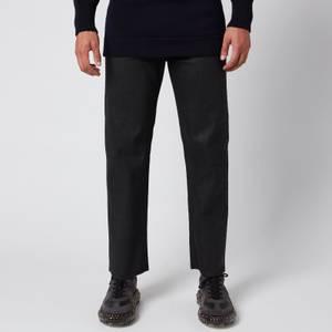 Maison Margiela Men's Coated Denim Jeans - Black