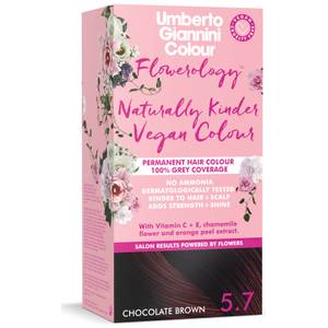 Umberto Giannini Flowerology Naturally Kinder Colour - Chocolate Brown 5.7 195ml
