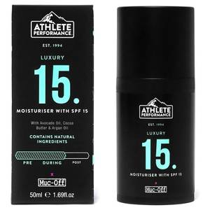 Muc-Off Athlete Performance Moisturiser with SPF 15 50ml
