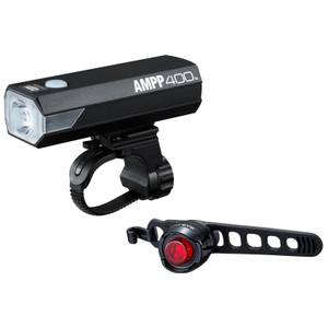 Cateye AMPP 400/Orb Rechargeable Light Set
