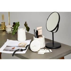 Black Swivel Table Mirror
