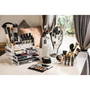 Clear Cosmetics Organiser - 9 Compartment