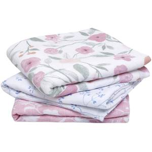 aden + anais Cotton Muslin Squares - Ma Fleur (3 Pack)