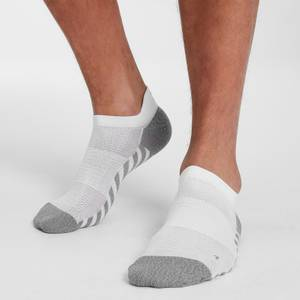 MP Velocity Anti-Blister Running Socks - White