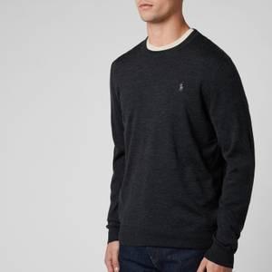 Polo Ralph Lauren Men's Merino Wool Sweatshirt - Dark Granite Heather