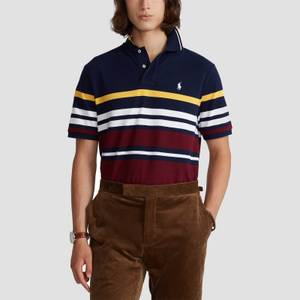 Polo Ralph Lauren Men's Short Sleeve Polo Shirt - Cruise Navy Multi
