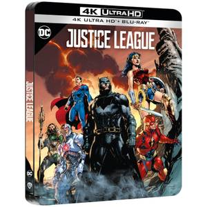 Justice League - Zavvi Exklusives 4K Ultra HD Steelbook (Inkl. 2D Blu-ray)