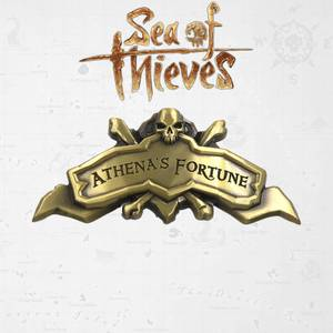 Sea of Thieves Athena's Fortune Ship Plaque Limited Edition Replica