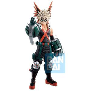 Figurine Ichibansho Figure Katsuki Bakugo(Fighting Heroes Feat. One's Justice) - Banpresto