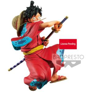 Banpresto One Piece King of Artist The Monkey D. Luffy-Wanokuni Figure