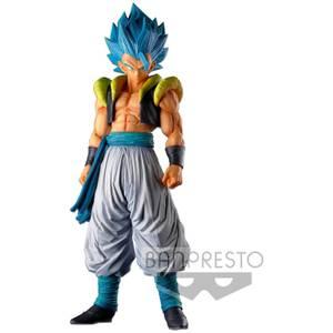 Statuetta Dragon Ball Super Super Master Stars Piece The Gogeta The Brush Super Saiyan Blue  - Banpresto