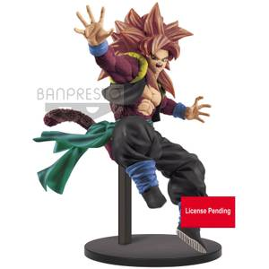 Banpresto Super Dragon Ball Heroes 9th Anniversary Figure-Super Saiyan 4 Gogeta:Xeno Figure