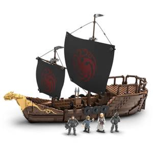 Game of Thrones Targaryan Ship Playset