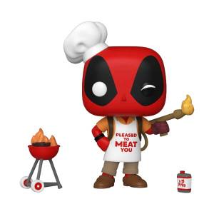 Marvel Deadpool 30th Backyard Griller Deadpool Pop! Vinyl Figure