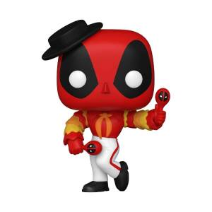 Figura Funko Pop! - Deadpool Flamenco - Marvel: Deadpool 30º Aniversario