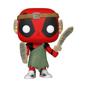Figura Funko Pop! - Deadpool Nerd - Marvel: Deadpool 30º Aniversario
