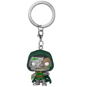Marvel Zombies Dr Doom Pop! Keychain