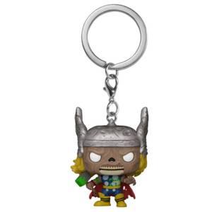 Marvel Zombies Thor Pop! Keychain