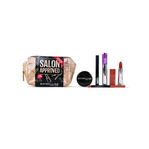 Maybelline Makeup Salon Approved Gift Set for Her (Worth £32.00)