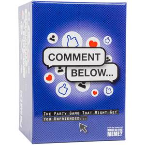 Comment Below Adult Party Game