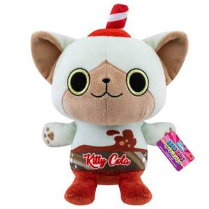 """Paka Paka Soda Kats Kitty Cola 7"""" Plush"""