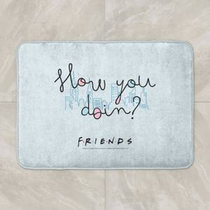 Friends How You Doin? Bath Mat
