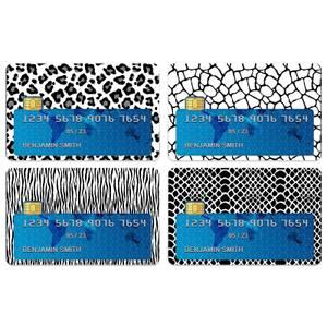 Animal Print Credit Card Covers