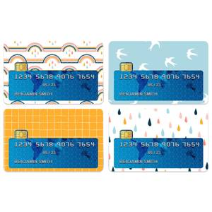 Rainbow Credit Card Covers