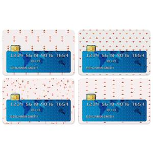 Triangles Credit Card Covers