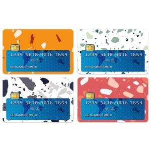 Terrazzo Credit Card Covers