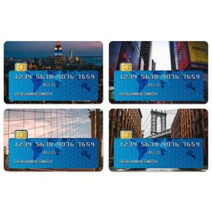 New York City Credit Card Covers