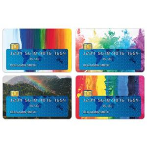 Splash Of Colour Credit Card Covers