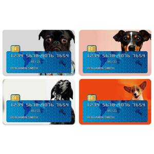 Dog Medley Credit Card Covers