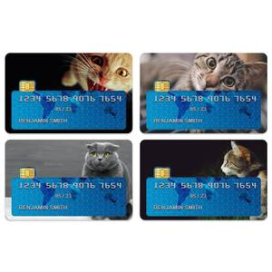 Cat Medley Credit Card Covers